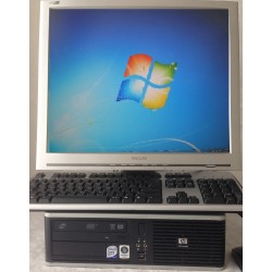 HP Compaq dc7800p Business 3GB/SSD 60GB HDD WIN 7 PRO NL